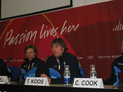 U.S. Olympic Cross Country Team's Andy Newell and Torin Koos