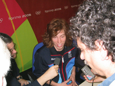 First time Olympian Shaun White answers questions at the U.S. Olympic Team's arrival press conference