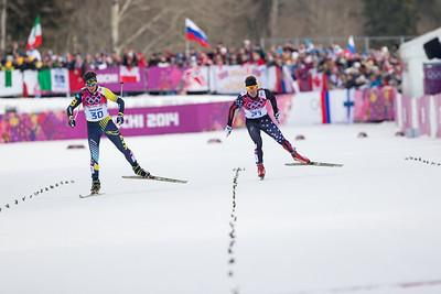 Simi Hamilton 2014 Olympic Winter Games - Sochi, Russia. Men's skate sprint Photo: Sarah Brunson/U.S. Ski Team