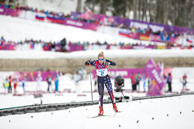 Ida Sargent 2014 Olympic Winter Games - Sochi, Russia. Women's skate sprint Photo: Sarah Brunson/U.S. Ski Team