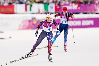 Sophie Caldwell 2014 Olympic Winter Games - Sochi, Russia. Women's skate sprint Photo: Sarah Brunson/U.S. Ski Team