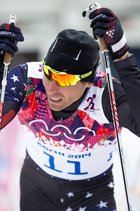 Andy Newell 2014 Olympic Winter Games - Sochi, Russia. Men's skate sprint Photo: Sarah Brunson/U.S. Ski Team