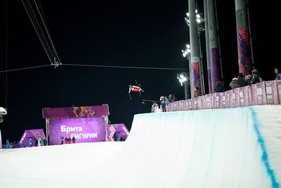 2014 Olympic Winter Games - Sochi, Russia. Women's halfpipe skiing Photo: Sarah Brunson/U.S. Ski Team
