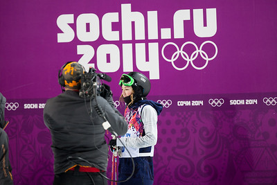 Brita Sigourney 2014 Olympic Winter Games - Sochi, Russia. Women's halfpipe skiing Photo: Sarah Brunson/U.S. Ski Team
