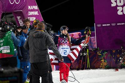 Maddie Bowman 2014 Olympic Winter Games - Sochi, Russia. Women's halfpipe skiing Photo: Sarah Brunson/U.S. Ski Team