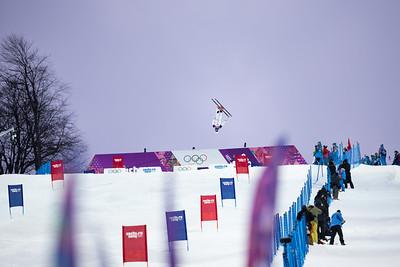Bradley Wilson 2014 Olympic Winter Games - Sochi, Russia. Men's moguls Photo: Sarah Brunson/U.S. Ski Team