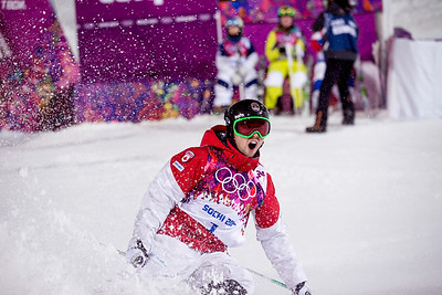 Canadian Alex Bilodeau 2014 Olympic Winter Games - Sochi, Russia. Men's moguls Photo: Sarah Brunson/U.S. Ski Team