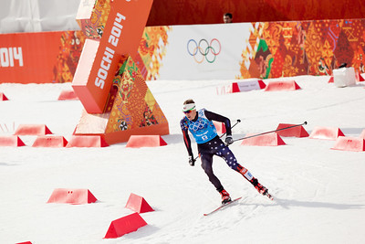 Billy Demong 2014 Olympic Winter Games - Sochi, Russia. Nordic Combined Team event Photo: Sarah Brunson/U.S. Ski Team