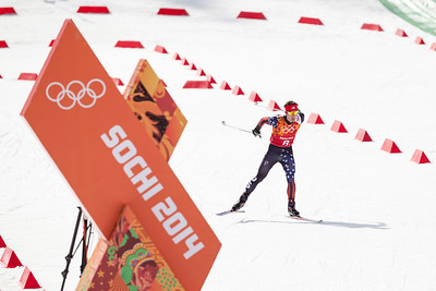 Bryan Fletcher 2014 Olympic Winter Games - Sochi, Russia. Nordic Combined Team event Photo: Sarah Brunson/U.S. Ski Team
