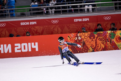 Lindsey Van 2014 Olympic Winter Games - Sochi, Russia. Historic first Olympic Women's Ski Jumping competition debut. Photo: Sarah Brunson/U.S. Ski Team