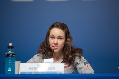 Sarah Henrickson 2014 Olympic Winter Games - Sochi, Russia. Women's ski jumping press conference Photo: Sarah Brunson/U.S. Ski Team