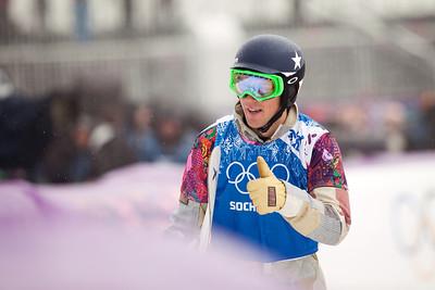 Alex Diebold 2014 Olympic Winter Games - Sochi, Russia. Men's Snowboardcross Photo: Sarah Brunson/U.S. Snowboarding