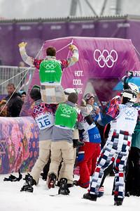 2014 Olympic Winter Games - Sochi, Russia. Men's Snowboardcross Photo: Sarah Brunson/U.S. Snowboarding