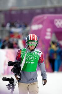 Trevor Jacob 2014 Olympic Winter Games - Sochi, Russia. Men's Snowboardcross Photo: Sarah Brunson/U.S. Snowboarding