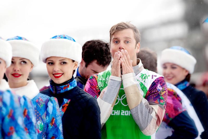 2014 Olympic Winter Games - Sochi, Russia.<br /> Men's Snowboardcross<br /> Photo: Sarah Brunson/U.S. Snowboarding