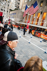 Billy Demong  100 Days Out from the 2014 Winter Olympic Games in Sochi TODAY Show, New York City Photo: Sarah Brunson/USSA