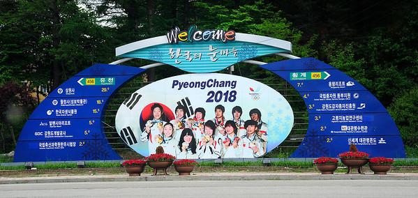 2018 Olympic venues at Pyeongchang, South Korea. (USSA/Tom Kelly)