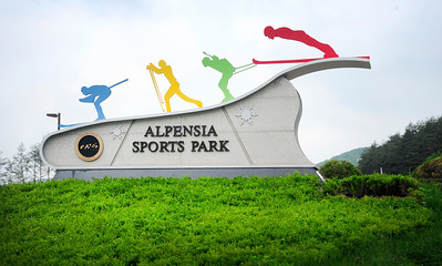 Alpensia Sports Park one of the 2018 Olympic venues at PyeongChang, South Korea. (USSA/Tom Kelly)