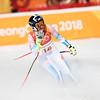 Alice McKennis<br /> Alpine Downhill<br /> 2018 Olympic Winter Games in PyeongChang, Korea<br /> Photo: Sarah Brunson/U.S. Ski & Snowboard