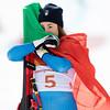 Sofia Goggia<br /> Alpine Downhill<br /> 2018 Olympic Winter Games in PyeongChang, Korea<br /> Photo: Sarah Brunson/U.S. Ski & Snowboard