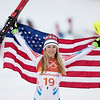 Mikaela Shiffrin<br /> Alpine Combined<br /> 2018 Olympic Winter Games in PyeongChang, Korea<br /> Photo: Sarah Brunson/U.S. Ski & Snowboard