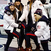 Darian Stevens, Caroline Claire, Devin Logan and Maggie Voisin<br /> Olympic Processing<br /> 2018 Olympic Winter Games in PyeongChang, Korea<br /> Photo: Sarah Brunson/U.S. Ski & Snowboard