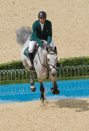 Olympics Equestrian Jumping