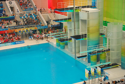 Olympics - The Cube / Diving