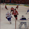 Team Canada scores vs. Norway - Vancouver 2010 Olympics