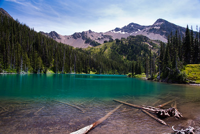 Moose Lake in Olympic National Park