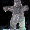 POLY2001-SpiritBear2601.jpg: The Kermode or Spirit Bear looms large at the Opening Ceremony of the XXI Olympic Winter Games on Feb. 12 at BC Place stadium in Vancouver, British Columbia, Canada. The Provincial Government in 2006 began moves to have the Spirit Bear declared the official animal of British Columbia.<br /> Photo by Tim Hipps, FMWRC Public Affairs