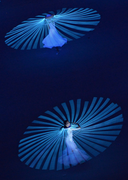 2360338 02/07/2014 Performers during the opening ceremony of the XXII Olympic Winter Games in Sochi. Grigoriy Sisoev/RIA Novosti