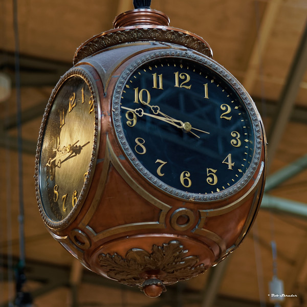 Seattle Center Armory Clock