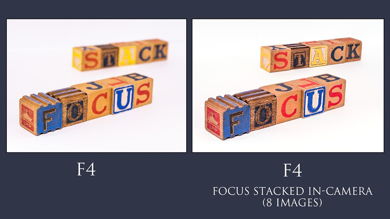 focus stacked blocks