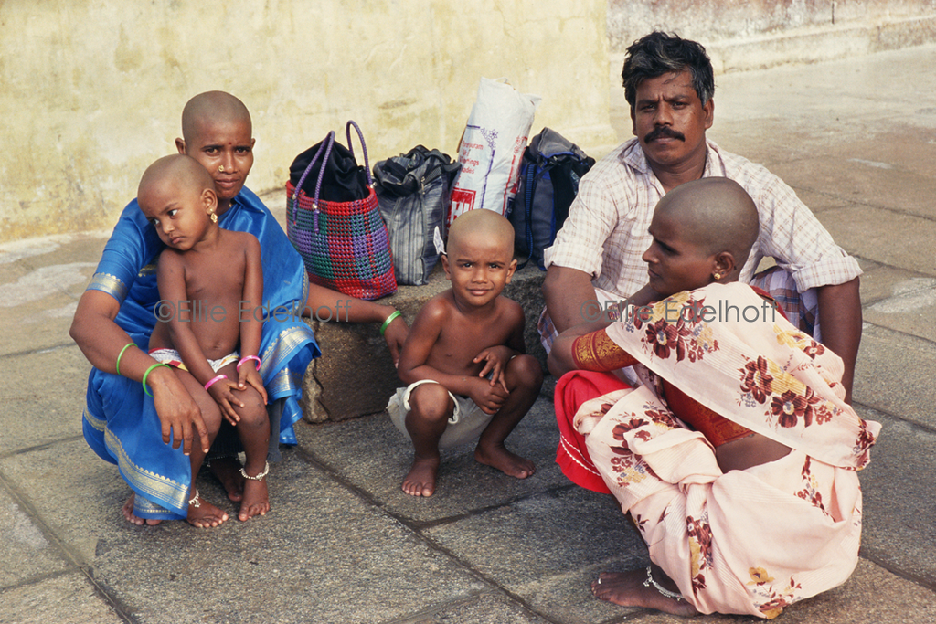 Hair Offering at Tirumala Venkatesvara Temple - India