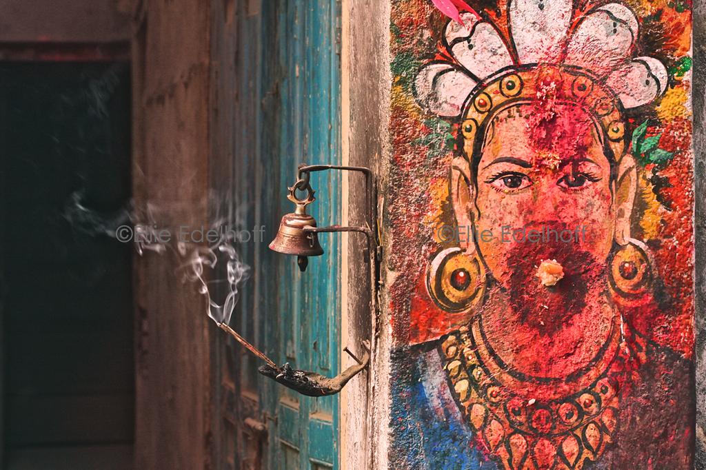 Appeasing a Devata - Kathmandu, Nepal