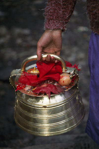 Morning Puja - Nepal