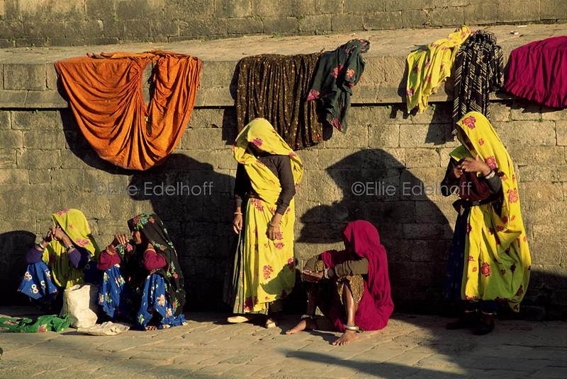 Shadows and Saris - Kathmandu, Nepal