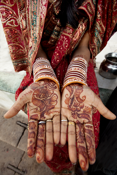 Wedding Hands - Varanasi, India