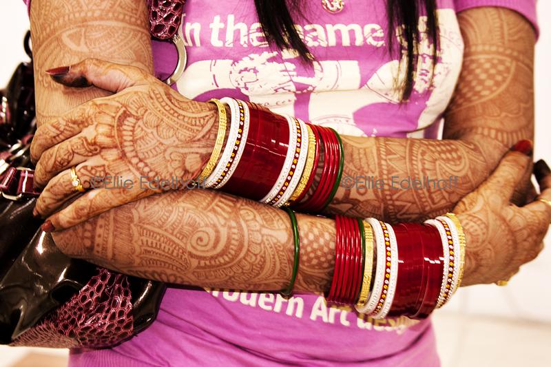 Modern Art Bride - India