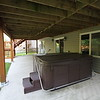 Hot Tub on lower patio