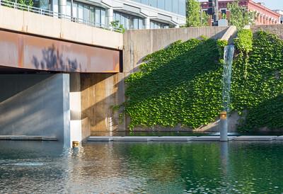 Eugene Leahy Mall Canal Omaha