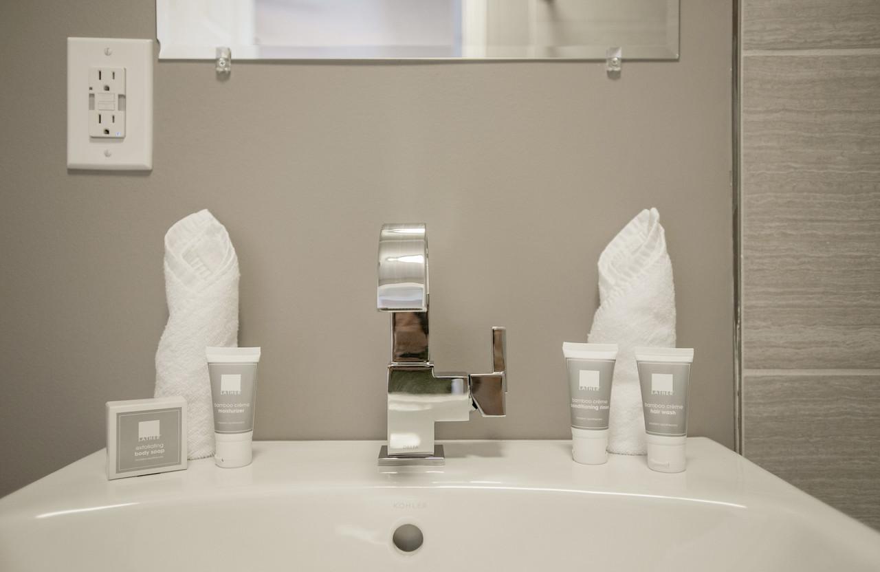 Premier Queen Loft Bathroom