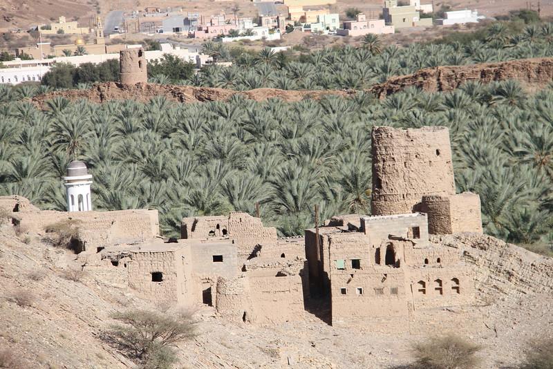 Falaj enabling dates to be grown around Jebel Akhdar
