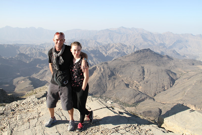Tess and I - same mountains