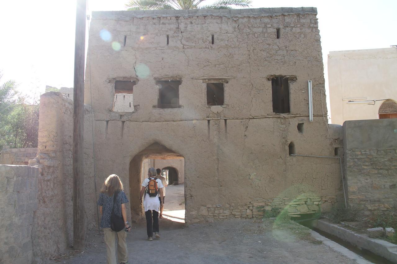 Entering Jebel Akhdar