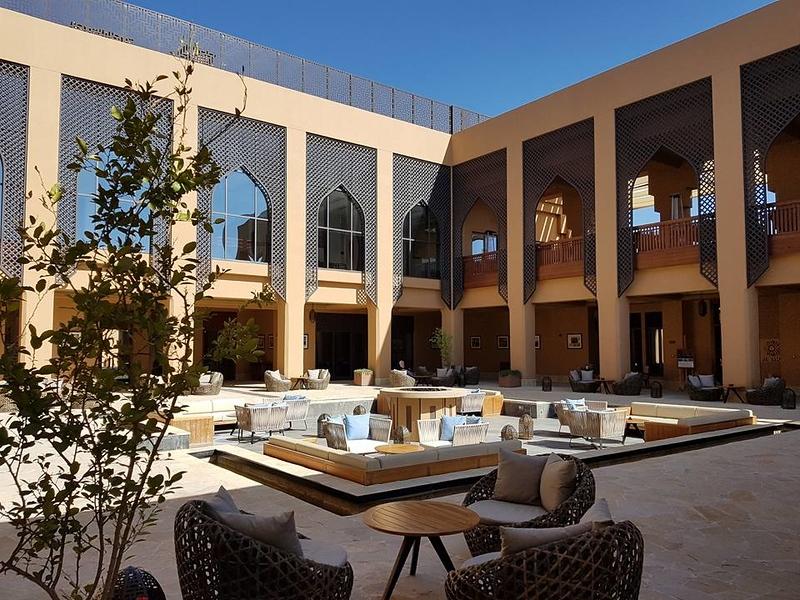 Anatara. The hotel we stay at.
