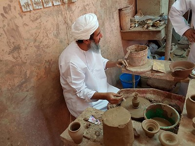 The potter at Bahla.