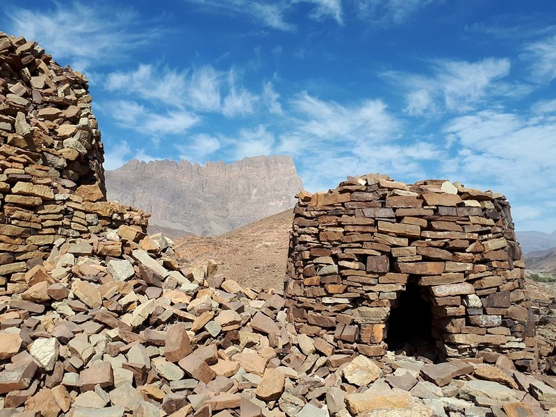 The tombs at Al Ayn, Oman.