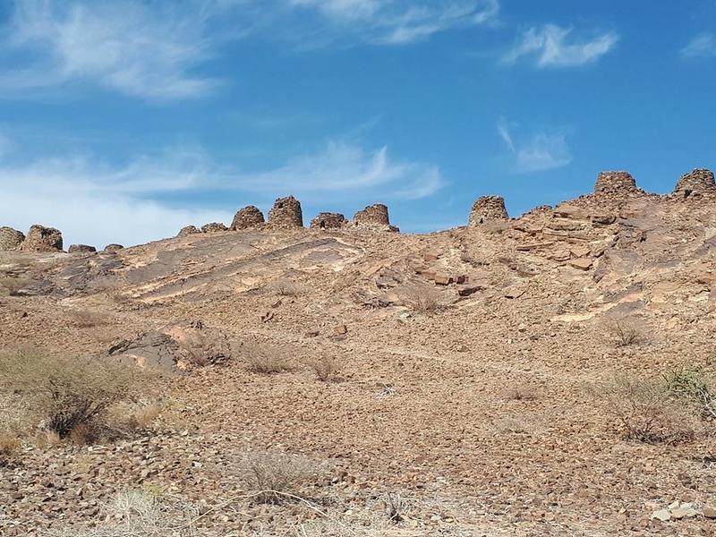 Al Ayn tombs. Oman.